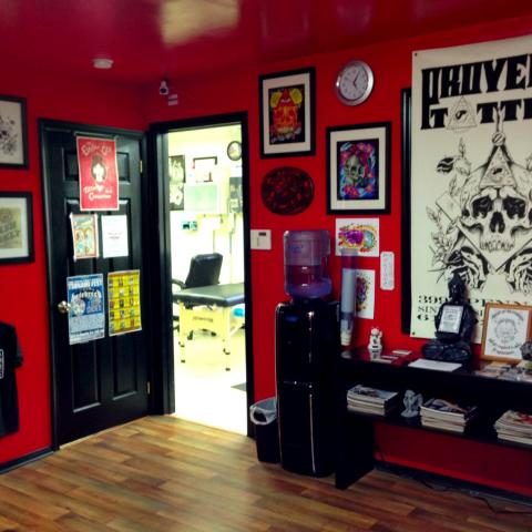 Provenia tattoo sinking springs pa reading pa for Tattoo shops in reading pa